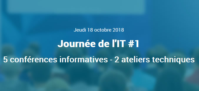 1ere journée de l'IT by SIP
